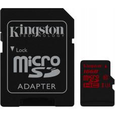 Карта памяти Kingston 4K microSDHC 16GB Class 10 UHS-I U3 R90/W80MB/s